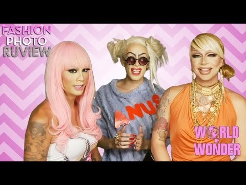 RuPauls Drag Race Fashion Photo RuView with Raja & Raven feat...