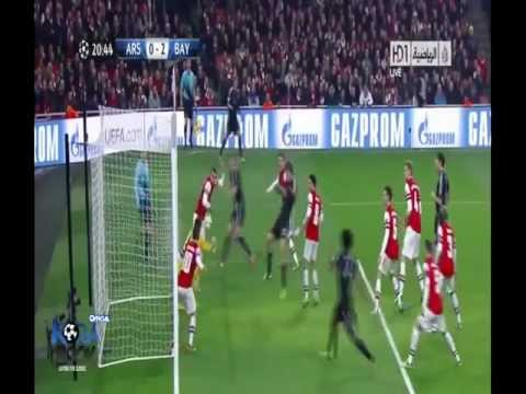 Arsenal VS Bayern München 1-3 Goals & Highlights 19-02-2013 Full HD
