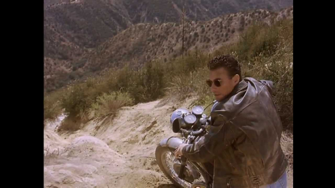 Van Damme Motocycle Police Chase HD Movie Nowhere