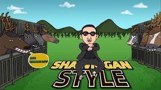 Download lagu PSY - GANGNAM STYLE (강남스타일) PARODY! SHAWNIGAN STYLE!