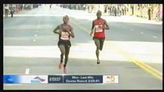 R.I.P. SAMMY WANJIRU - 2010 CHICAGO MARATHON  - his LAST marathon