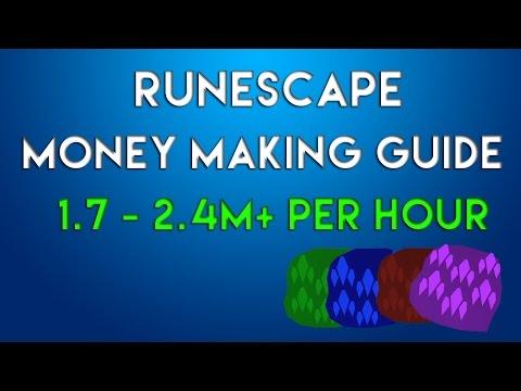 RuneScape 3 Money Making Guide 1.7m -2.4m + per hour 2015 P2p Commentary