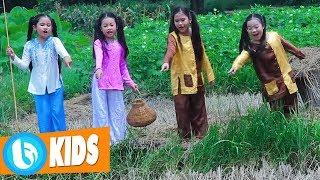 Liên Khúc Thiếu Nhi Vui Nhộn - Câu Cá Bắt Cua | Nhóm Rain Kids