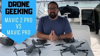 Geeking Out on Drones: DJI Mavic 2 Pro vs Mavic Pro for RV/Boat Travels