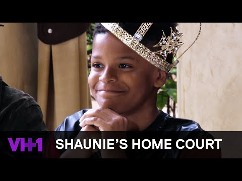 Shaqir O'Neal Holds Model Auditions For His Birthday Party | Shaunie's Home Court