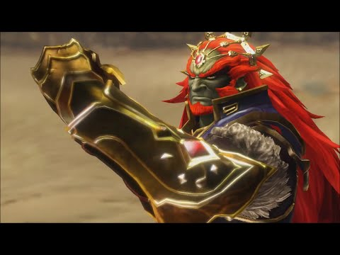 Hyrule Warriors - 100% Walkthrough - Stage 14: Ganondorf's Return (Gerudo Desert) - Ganondorf