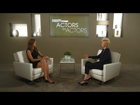 Hilary Swank and Tilda Swinton at the Variety Studio: Actors on Actors