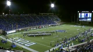 Duke vs UNC Team Intro 2016 - Lights Out