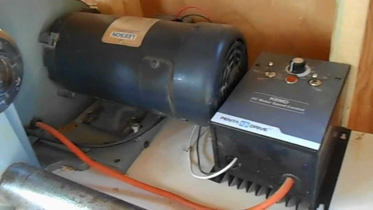 Lathe Motor Conversion To A Dc Motor Youtube