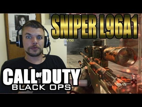 Black ops : Sniper L96A1 Gameplay #1 | Iron SkyRRoZ