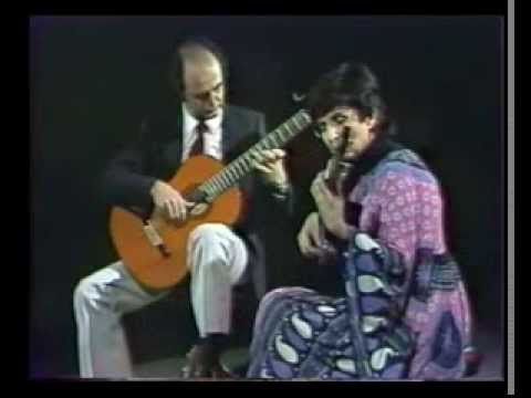 Bach: Gigue (English Suite No.2) - Evangelos&Liza (Evangelos Assimakopoulos - Liza Zoe)