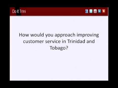 Do It Trini - 100% Good Customer Service, is it Possible? with TashInc Consulting