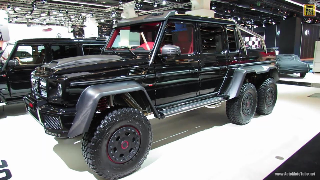 Mercedes benz g wagon 6x6 autos post for Mercedes benz g wagon 6x6 for sale