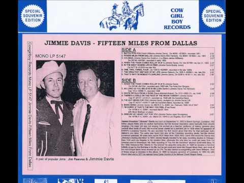 1476 Jimmie Davis - Fifteen Miles From Dallas