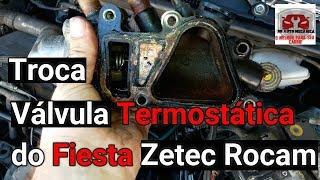 Troca da Válvula termostática Fiesta Zetec Rocam - DR Auto Mecânica N°168
