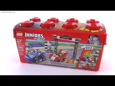 LEGO Juniors Race Car Rally review! set 10673