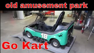Will IT RUN? Go Kart from a closed amusement park