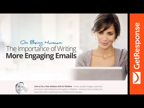 [Webinar] On Being Human. The Importance of Writing More Engaging Emails