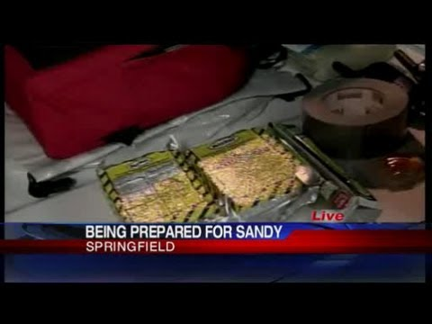 Hurricane Sandy: Getting prepared