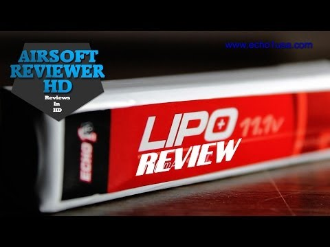 Echo1USA Lipo Battery Review And Test!