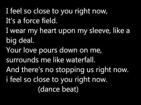 Calvin harris-feel so close lyrics