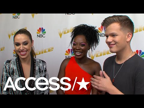 'The Voice': Jackie Foster, Christiana Danielle & Britton Buchanan On Whether They Get Nervous