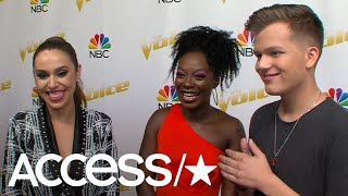 Download Lagu 'The Voice': Jackie Foster, Christiana Danielle & Britton Buchanan On Whether They Get Nervous Gratis STAFABAND