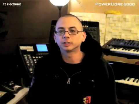 Mike Chav about his use of TC Electronic PowerCore