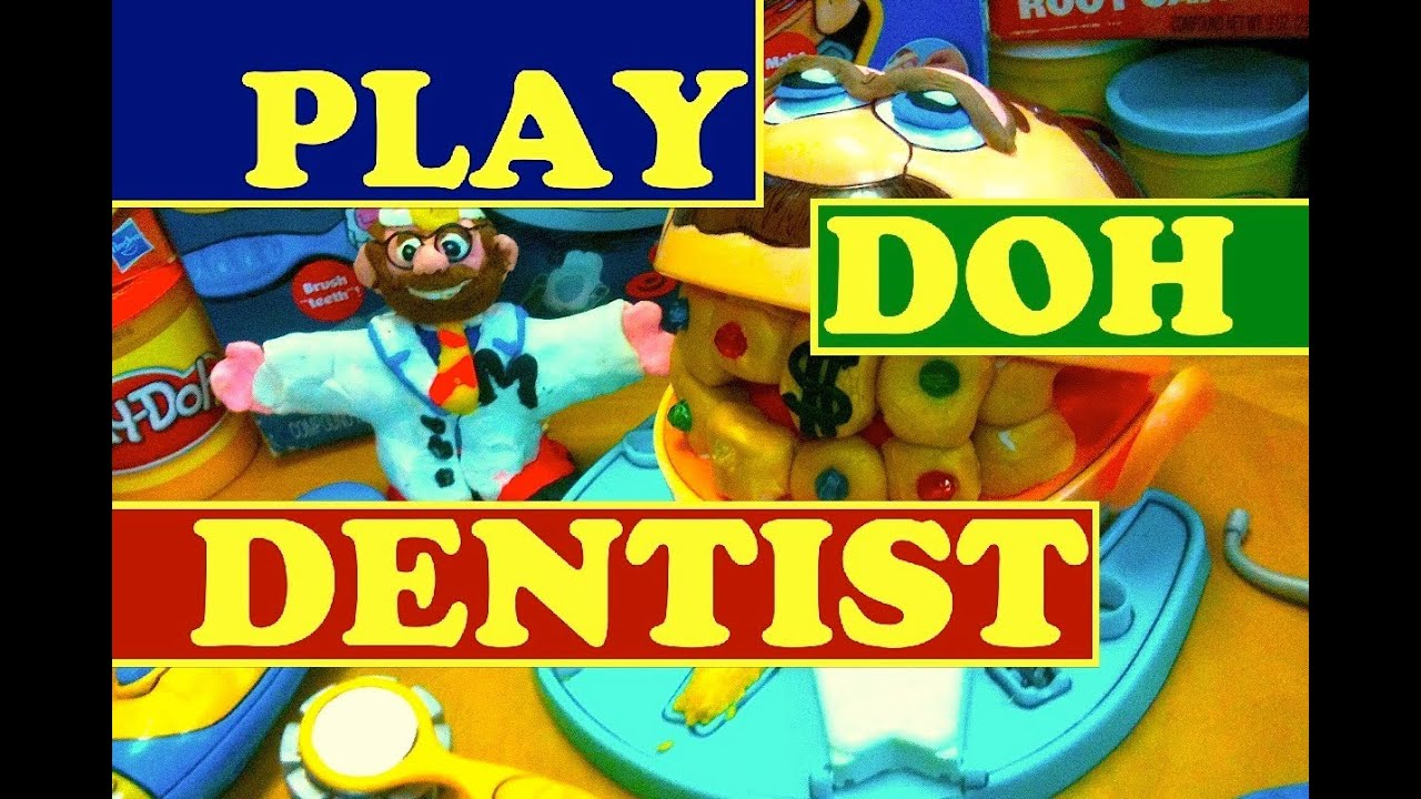 play doh dentist dr drill fill playskool toy review by. Black Bedroom Furniture Sets. Home Design Ideas