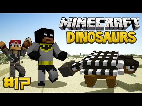 Minecraft Dinosaurs Mod Fossils and Archaeology Series Episode 17 WHY BUTTERCUP