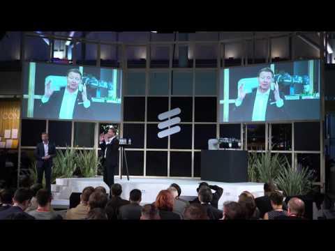 #MWC2016: Ericsson CEO Hans Vestberg Q&A