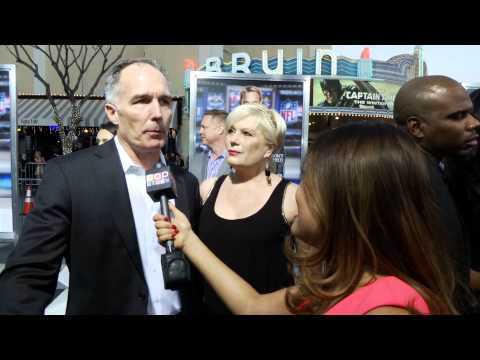 Patrick St. Esprit At the Draft Day Premiere Interview!