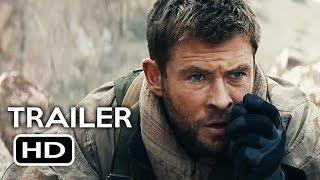 12 Strong Official Trailer #2 (2018) Chris Hemsworth, Michael Shannon War Drama Movie HD