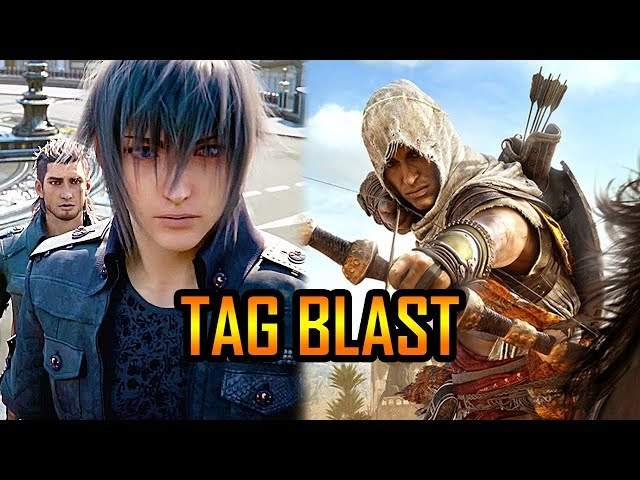 TAG BLAST - GTA 5 Doomsday Heist, Final Fantasy XV & Assassin's Creed Origins, Pokemon GO Gen 3!