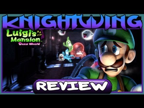 Kwing Game Reviews - Luigi's Mansion: Dark Moon Review (3DS)