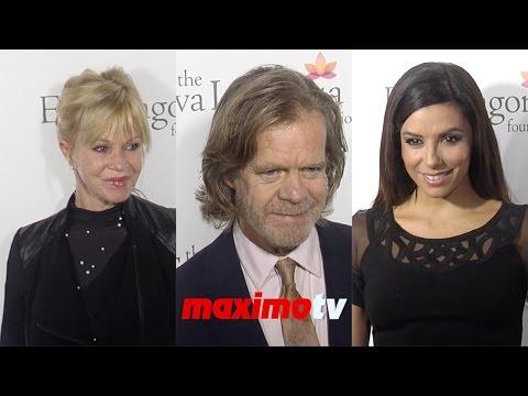 Eva Longoria, William H. Macy, Melanie Griffith 2014 Eva Longoria Foundation Dinner