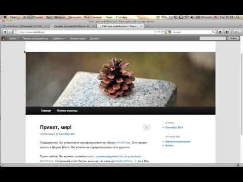 Как создать сайт на wordpress с нуля