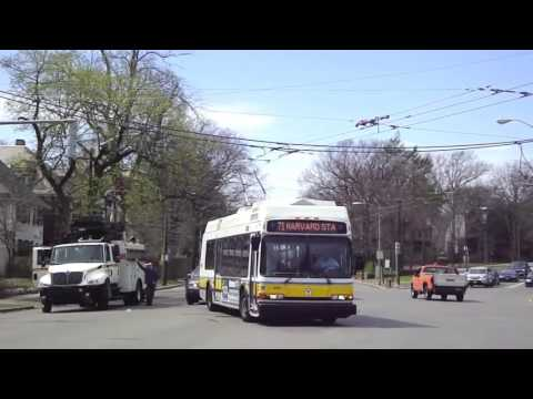 One Hour of Boston's Transportation (MBTA MARATHON)!