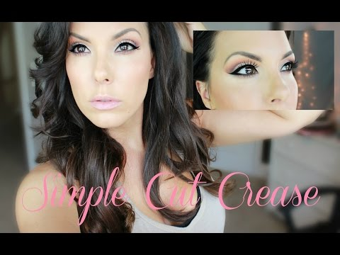 Easy Cut Crease Eyeshadow Tutorial & Soft Neutral Face Makeup