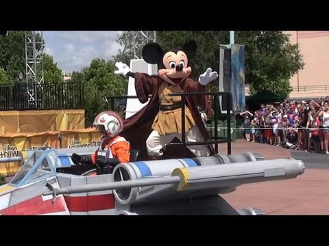 MouseSteps Weekly #147 Star Wars Weekends 2015 Overview. w/Premium Package; Stormtroopers; Parade
