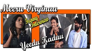 Rahul Ramakrishna Priyadarshi Funny Interview With Gayatri Guptha | Mithai Movie | hmtv