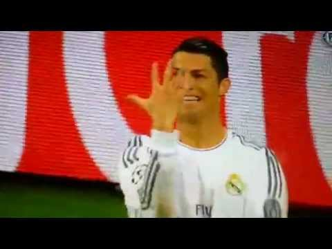 Funny Christiano Ronaldo Goal Celebration vs Bayern Munich