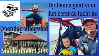Open dag Vliegveld Middenmeer|Adventure Flights 2019🛬[Vlog#79 Nice Family & Friends Familie vloggers