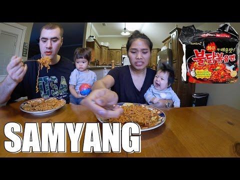 AMERICAN VS INDONESIAN SAMYANG CHALLENGE VLOG