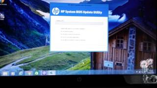 ACTUALIZAR BIOS HP-N058es y descargar drivers