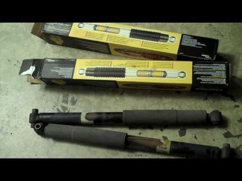 GMC Envoy or Chevy TrailBlazer How to replace Shocks