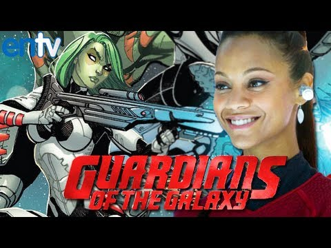 Zoe Saldana Is Gamora in Guardians of the Galaxy - ENTV