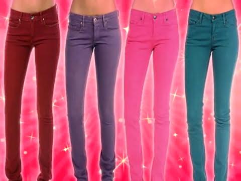 Como combinar pantalones de colores