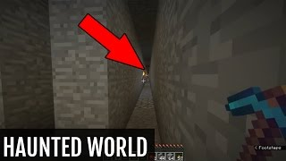 Exploring a HAUNTED Minecraft World (DOWNLOAD LINK)
