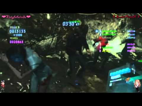 Resident Evil 6 PS3 Versus Team Survivors Ada Wong All Costumes W/ �Scarlet-RelaaH & KyleD0AE�